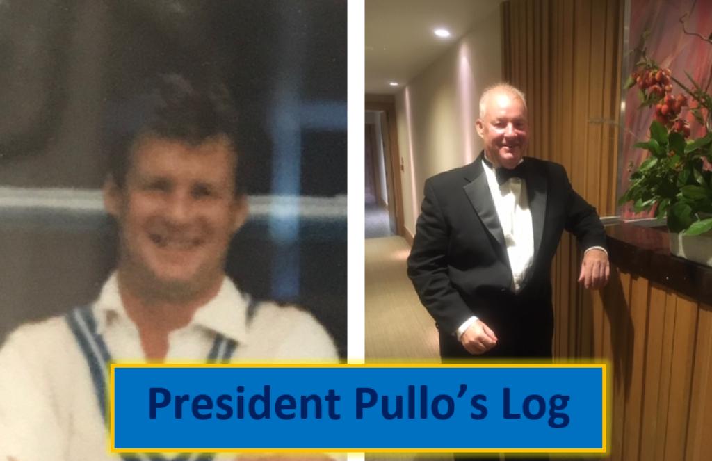 President Pullo's Log May 2020