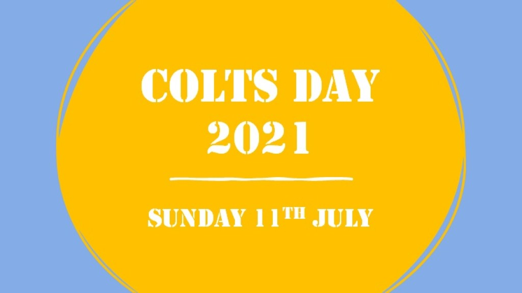 Colts Day Team Names Announced!